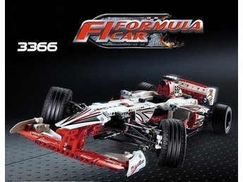 F1 FORMULA CAR - 3366 Technic Grand Prix Racer