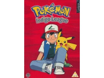 DVD Pokemon INDIGO LEAGUE