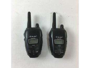Alan, Walkie Talkie, alan441, 2 st, Svart