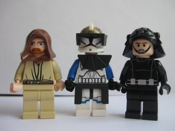 Lego Äkta Figurer 3st Star Wars Figurer  -  LF9-20