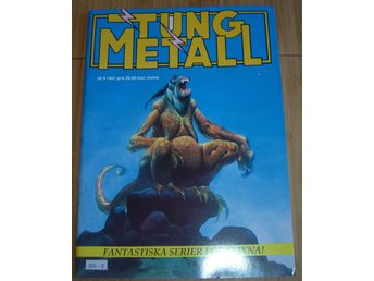 TUNG METALL NR 9 1987 Fint skick