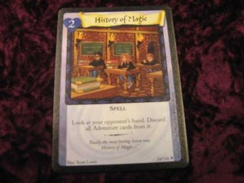 HISTORY OF MAGIC RARE 24/116