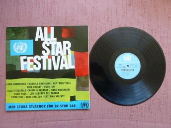 ALL - STAR FESTIVAL,  LP, LP-SKIVA