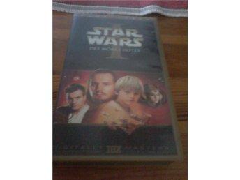 VHS film starwars det mörka hotet - Ringarum - VHS film starwars det mörka hotet - Ringarum