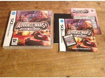 Advance Wars Dark Conflict - Nintendo DS - Johanneshov - Advance Wars Dark Conflict - Nintendo DS - Johanneshov