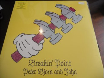 LP Peter Bjorn and John - Breakin Point   NY  BILLIG
