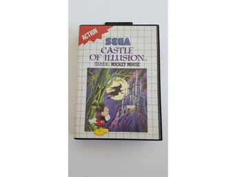 Sega Master System Castle of illusion starring Mickey Mouse musse pigg tvspel