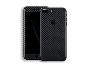 Carbon Fibre Vinyl Decal för din  IPhone 7 Plus