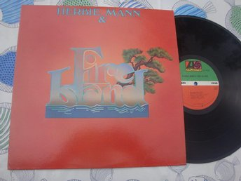 HERBIE MANN & FIRE ISLAND LP 1977