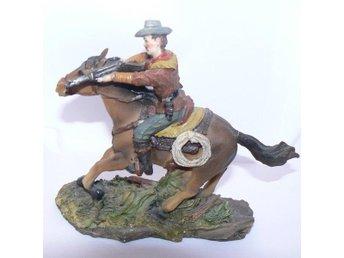 Cowboy på häst (Skyrup) - Sundbyberg - Cowboy på häst (Skyrup) - Sundbyberg