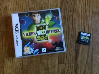BEN 10 ALIEN FORCE VILGAX ATTACKS NINTENDO DS  BRA SKICK