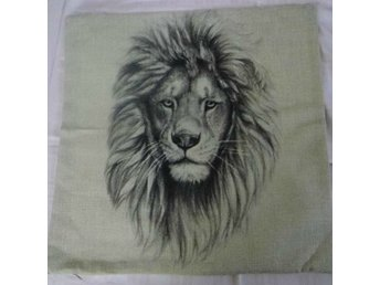 Lejon Kudde / Lion Cushion Cover