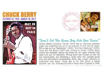 Chuck Berry Memorial Event Cover