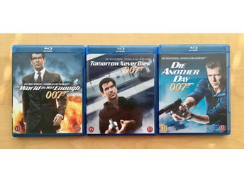 3 x James Bond BLUE RAY, Nya!