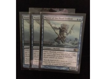 MTG Magic The Gathering Master of the Pearl Trident M13 x3 Kort