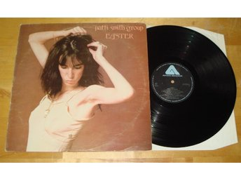 PATTI SMITH - Easter, Swe-1978 w/INSERT!