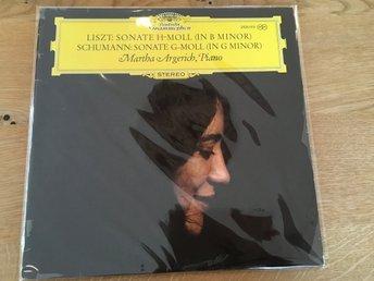 Liszt, Schumann, Martha Argerich - Sonate H-Moll (In B Minor) / Sonate G-Moll - Lidingö - Liszt, Schumann, Martha Argerich - Sonate H-Moll (In B Minor) / Sonate G-Moll - Lidingö