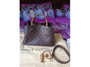 Louis Vuitton Montaigne MM med äkthetsintyg