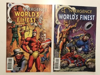 Convergence Worlds Finest (2015) Complete 1-2 Rea 49sek!!!