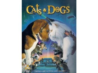 Cats and Dogs - Som Hund Och Katt - DVD