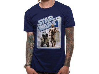 STAR WARS - DROIDS RETRO BADGE (UNISEX) - 2Extra Large