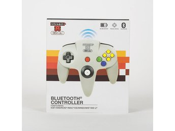 8bitdo X N64 Bluetooth Gamepad Retro-bit