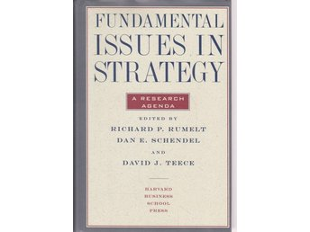 Fundamental Issues in Strategy