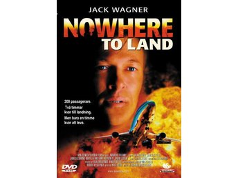 NOWHERE TO LAND (2000) - Jack Wagner - DVD - OOP