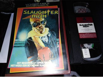 Slaughter high (1986) Holland hyr rental slasher