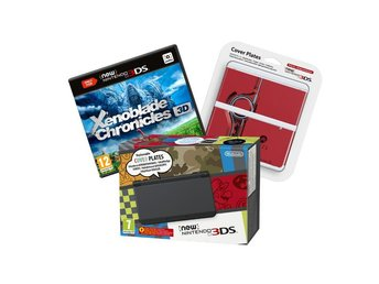 New Nintendo 3DS Black - Xenoblade Bundle