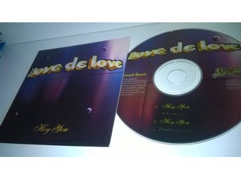 Dove De Love - Hey you, single CD