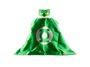 Mantel + Mask tema Green lantern - Fri frakt