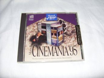 Microsoft Cinemania 95 för PC CD ROM och Windows