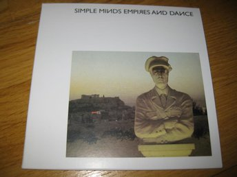SIMPLE MINDS - Empire and dance CD 1980/2002 / Vinyl replica