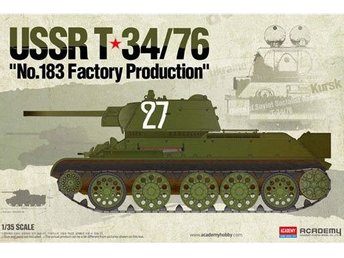 Academy 1/35 T-34/76 No.183 Factory Production - Kil - Academy 1/35 T-34/76 No.183 Factory Production - Kil
