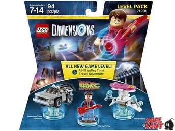 Lego Dimensions Back to the Future Level Pack 71201