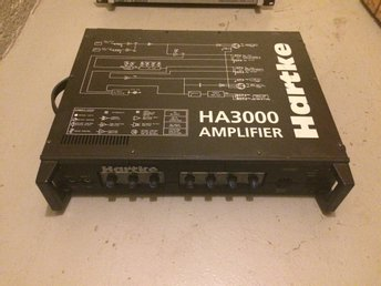 Amplifier Hartke HA3000