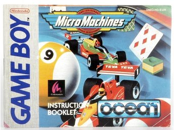 Micro Machines (Manual) -