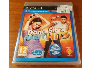 Dancestar Party Hits - Ny & Inplastad! - Komplett - PS3 / Playstation 3