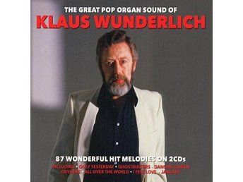 Wunderlich Klaus: Great pop organ sound 1974-89 (2 CD)