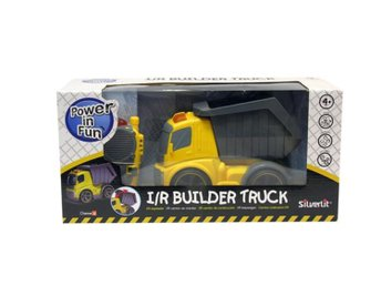 Javascript är inaktiverat. - Landskrona - Silverlit Builder Truck Radiostyrd lastbil med tippbart flak Beskrivning: Radiostyrd lastbil med tippbart flak. Ljud -och ljuseffekter. Fjärrkontroll ingår. Från 3 år. - Lättstyrd - Ljuseffekter - ljudeffekter SPECIFIKATIONER Bil Mått:  - Landskrona