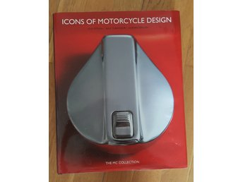 "Motorcykel-Bok ""Icons of Motorcycle Deisgn"" 238 sidor (engelsk text)"