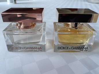 Dolce Gabbana Eau de Parfum - The One 30 ml och Rose The One 30 ml