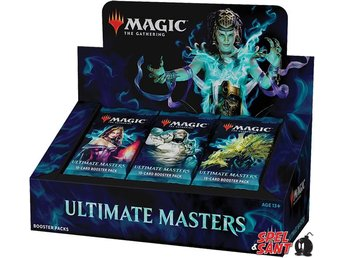 Magic Ultimate Masters Booster Display (inkl. Box Topper)