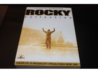 DVD-box: Rocky collection - 5 filmer