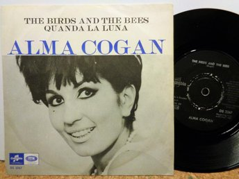 ALMA COGAN: THE BIRDS AND THE BEES+1. COLUMBIA DS 2267, SW.