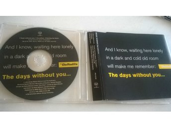 The Daffodils - Days Without You, CD, rare!