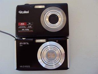 Digitalkameror 2 ST Rollei 10.0 mega pixel och avant si4, 14.0 mega pixels - Laholm - Digitalkameror 2 ST Rollei 10.0 mega pixel och avant si4, 14.0 mega pixels - Laholm