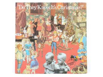 Band Aid - Do They Know It's Christmas? 880 502-7 Singel 1984