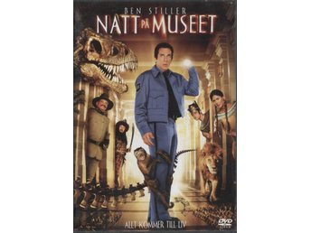 Night at the Museum - 2006 - OOP - DVD - Ben Stiller - Bålsta - Night at the Museum - 2006 - OOP - DVD - Ben Stiller - Bålsta